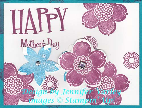 Contest Winner Mother's Day Card-Visit httpP://www.3amstamper.com