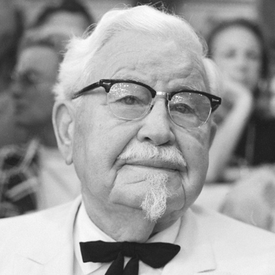 Colonel Sanders at Democratic National Convention