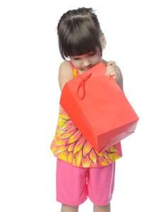 Little Girl With Surprise Gift