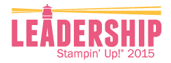 2915 Stampin' Up! Leadership Banner