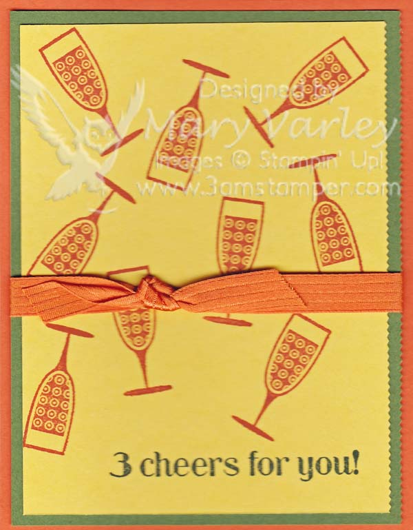 3 Cheers Card-Visit http://www.3amstamper.com