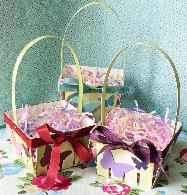 Three Easter Baskets-Visit http://www.3amstamper.com