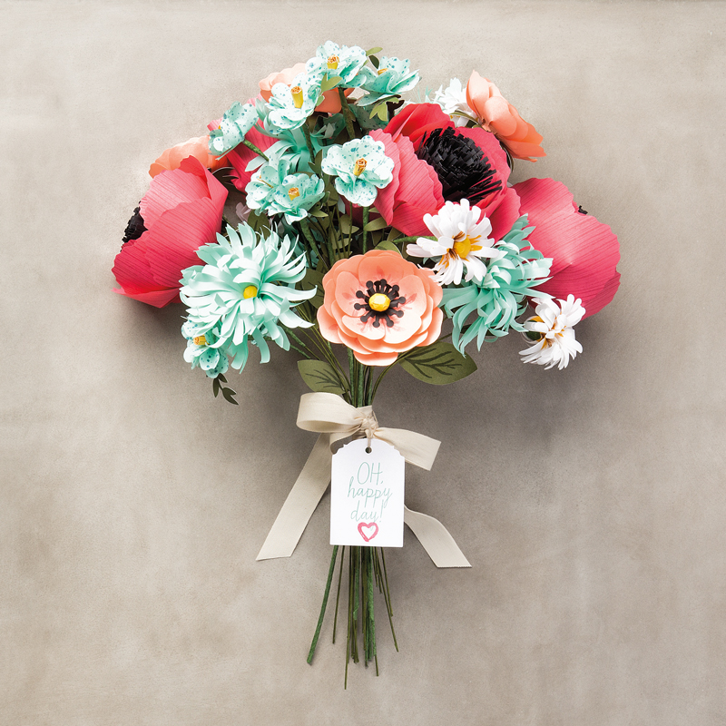 Build-A-Bouquet Project - Visit http://www.3amstamper.com