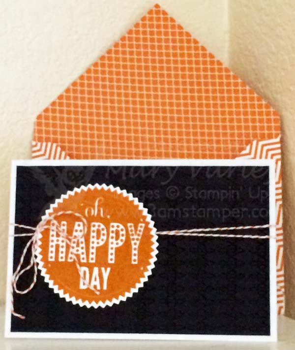 Quick Check Holder Gift Card-Visit http://www.3amstamper.com
