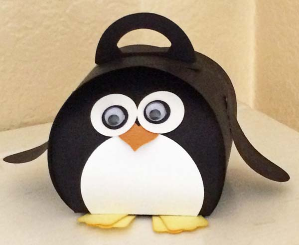 Curvy Keepsake Penguin by Dianne Lopez