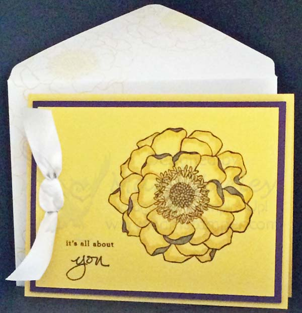 Daffodil Delight All-Occasion Card - Visit http://www.3amstamper.com