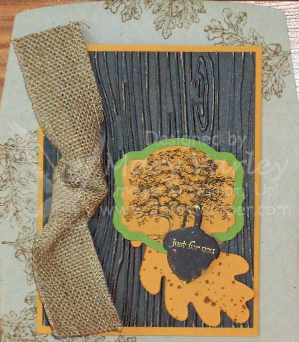 Fall Just For You Card-Visit http://www.3amstamper.com