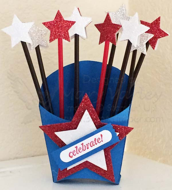Fry Box with Star Stirrers - visit http://www.3amstamper.com