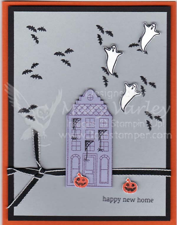 Happy Halloween Home Card-Visit http://www.3amstamper.com