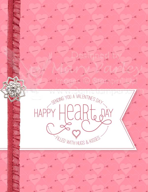 Happy Heart Day Card-Visit http://www.3amstamper.com