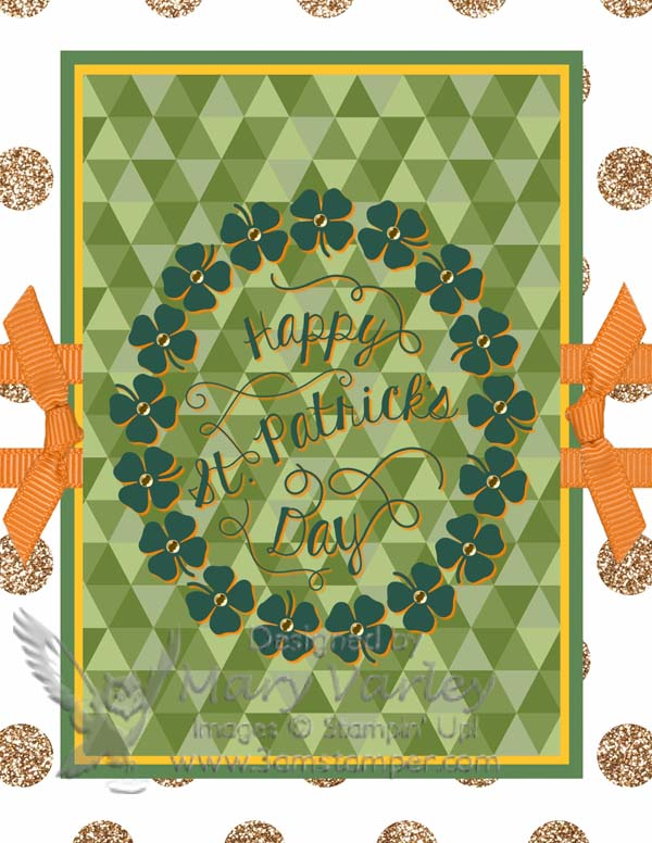 Happy St Paddy's Day 2014 - Visit http://222.3amstamper.com