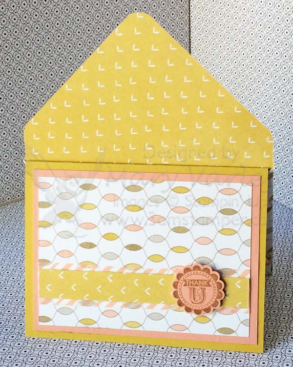 Lullaby Card #3 with Crisp Cantaloupe & Hello Honey-Visit http://www.3amstamper.com