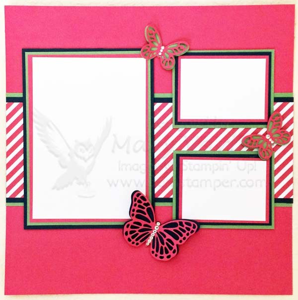 Melon Mambo Butterfly Page - Visit http://www.3amstamper.com