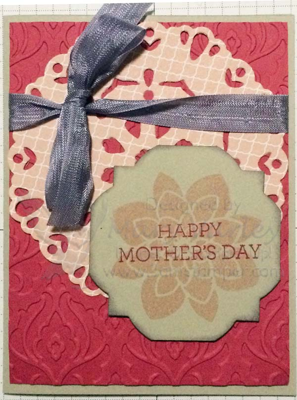 Mother's Day Card 2015-Visit http://www.3amstamper.com