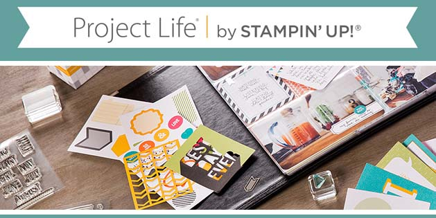 Project Life by Stampin' Up!-Visit http://www.3amstamper.com