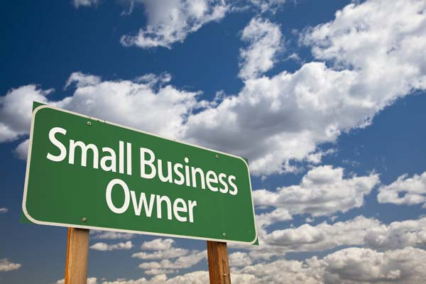 Small Business Owner Sign