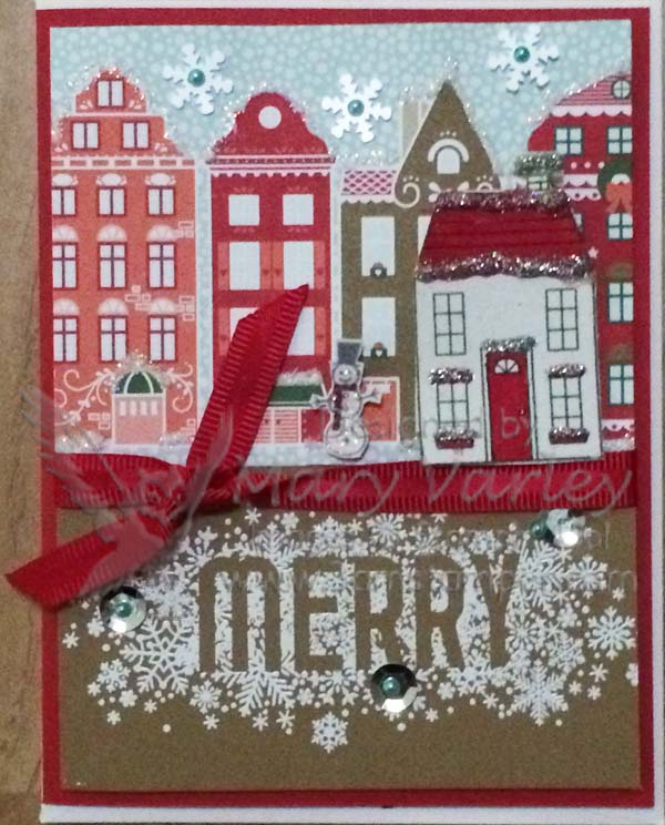 Holiday Card Sample-Visit http://www.3amstamper.com