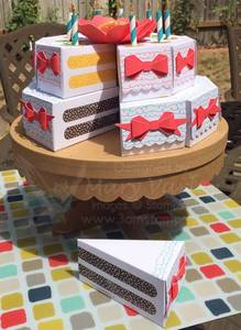 Sweet Stack Centerpiece-In-Class Version - Visit http://www.3amstamper.com