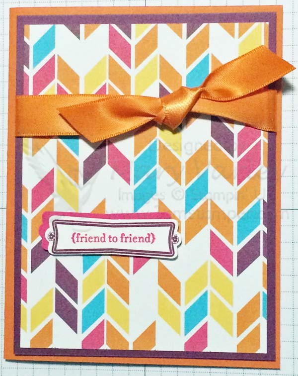Sweet Taffy Friend Card - Visit http://www.3amstamper.com