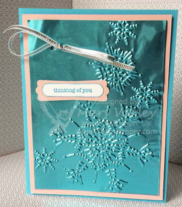 Thinking of You Card-Visit http://www.3amstamper.com