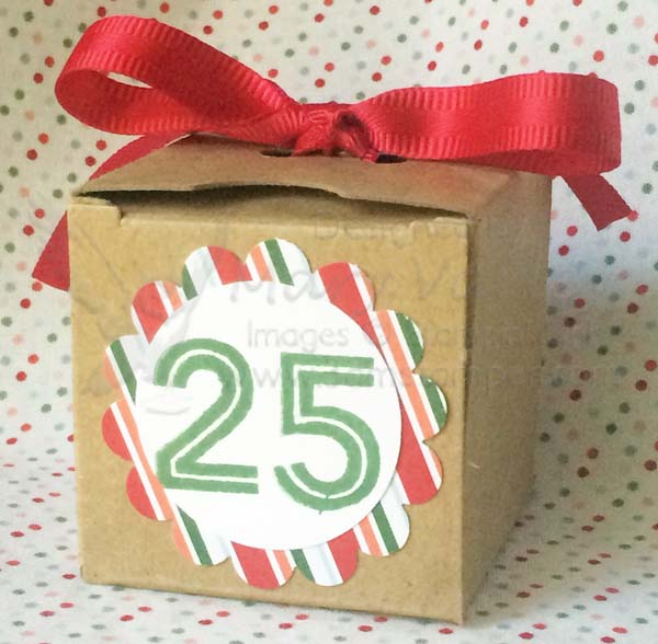 Tiny Treat Box Countdown Calendar Top-Visit http://www.3amstamper.com