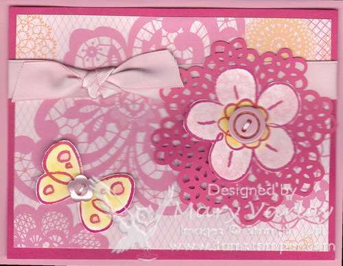 Flirtatious-Pink-Button-Card
